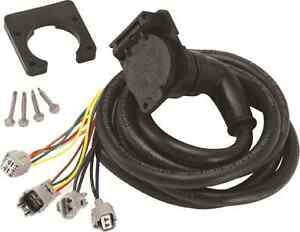 FIFTH 5th WHEEL GOOSENECK 7-Way WIRING 7' FOR TOYOTA TUNDRA RV TRAILER TRUCK BED