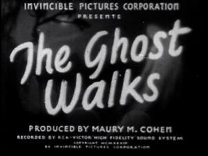 The Ghost Walks 1934 John Miljan, June Collyer  Mystery Thriller DVD
