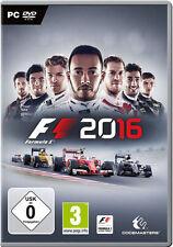 PC Computer Spiel ***** F1 2016 Formel 1 16 Formula uno one **********NEU*NEW*55