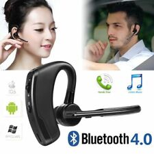 Slim Wireless Stereo Bluetooth Single Earpiece Headset For Android phone iPhone