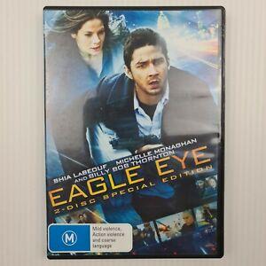 Eagle Eye DVD - 2 Disc Set - Region 4 - Shia LaBeouf - FREE TRACKED POSTAGE