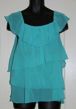 Womens size 18 sea green blouse made by KATIES