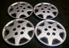 "Set of 4 OEM 1995-1996 Chrysler Sebring COUPE 14"" Hubcaps Wheel Covers MB948630"