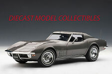 AUTOART 71173 CHEVROLET CORVETTE 1970, LAGUNA GRAY METALLIC, 1:18TH SCALE
