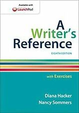 A Writer's Reference with Exercises by Diana Hacker and Nancy Sommers (2014)