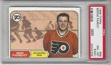 1968-69 Topps #89 Bernie Parent Flyers PSA 8 NM-MT RC Rookie