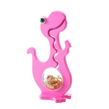 Big Belly Bank Kugelbahn Spardose DINO einfarbig rosa / 50cm