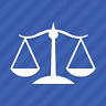 Law Justice Scale Lawyer Vinyl Decal Sticker