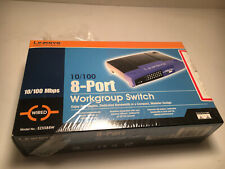 Cisco Linksys EZXS88W EtherFast 10/100 8-Port Workgroup Switch PRE-OWNED