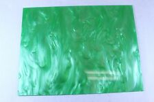 "Lime Green Pearl Marble Acrylic Plexiglass Sheet 12""x9""x.125"""