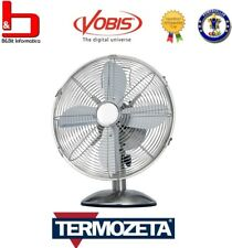 Termozeta Ventilatore da Tavolo 4 Pale ø34 cm mod. MANCHESTER in METALLO ITA