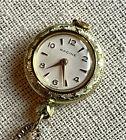Vintage Gallet Racine Pendant Watch, 17j, Swiss, Mdl. XJR, in Gallet & Co. Case!