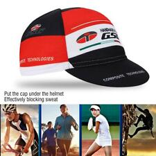 Bicycle Breathable Hat Cap Quick-dry Bike Cycling Sports Sunhat Black Red