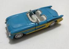 Road Champs 1/43 1953 Chevrolet Corvette convertible - blue-yellow