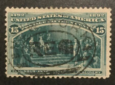 TDStamps: US Stamps Scott#238 15c Columbian Used