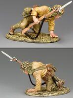 KING & COUNTRY WW2 JAPANESE NAVY JN037 JAPANESE CROUCHING SOLDIER MIB