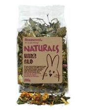 Rosewood Naturals Small Pet Treat Rabbit Guinea Pig Rat Degu Natures Salad 200g