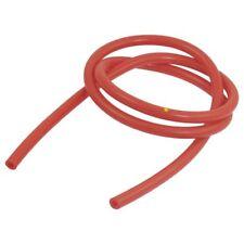 2X(4 mm diametro 8 mm exterior diametro silicona manguera de vacio,rojo A9E1)