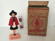 More details for rare with box gwyneth egg timer made in wales.