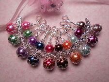 O24) Engel Schutzengel Gastgeschenk Anhänger Perlen Glücksbringer Deko Hochzeit