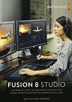 Blackmagic Design Fusion 8 Studio for Windows [USB Memory Stick] Windows