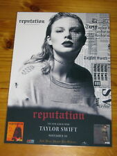 Taylor Swift - REPUTATION  - Laminated  Promotional Poster.