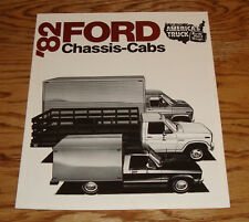 Original 1982 Ford Chassis-Cab Sales Brochure 82 F-Series Econoline Courier