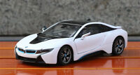 Rastar 1:24 BMW I8 Sports Car Diecast Alloy Toy Vehicles Model Boys Gift Display