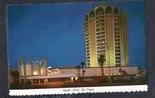 E405 Chrome Advertising Postcard 4x6 Sands hotel casino Las Vegas Nevada