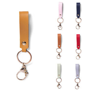 Fashion PU Leather Keychain Keys Strap Leather Key Chain Waist Wallet KeyChains