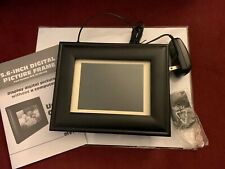 """INVION 5.6"""" DIGITAL PHOTO FRAME Matted to 3""""x5"""" Picture Brand New No Box SD Card"""