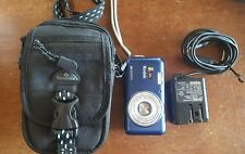 Kodak EasyShare V803 8MP Point & Shoot Digital Camera Blue with case & charger