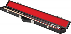 Casemaster Deluxe Billiard/Pool Cue Hard Case Holds 1 Complete 2-Piece Cue 1 ...