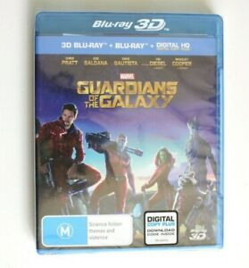 Guardians Of The Galaxy 3D blu-ray - Sealed