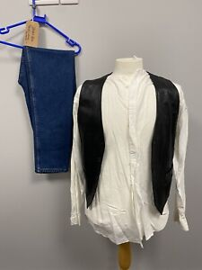 Status Quo Francis Rossi Outfit - Size M/L Rockstar Legend Singer Cosplay Music