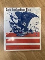 US Stamps - Collection in Scotts American Stamp Album - Over 400 stamps