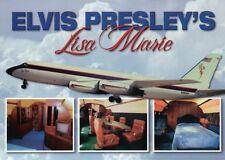 Elvis Presley Plane Lisa Marie, Graceland Memphis Tennessee, Airplane - Postcard