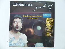 CD  single Promo GAINSBOURG Marilou reggae 4809 Pochette format 25 cms 10""