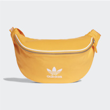 Adidas Originals Bum Bag / Waist Zipper Bag - Yellow / Real Gold / DH4315