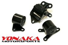 Yonaka Motorsports Honda Civic 96-00 EK D-B Series Motor Mounts Swap B16 B18 D16