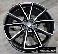 "4 X 19"" Satin grey Audi A1 S-LINE RS Style alloy wheels Audi A3 - BLACK EDITION!"