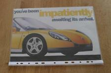 Renault Sport Spider Sports Car Brochure 1996