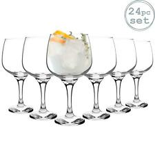 24pc Ballon Gin verre Set Grand bol en verre 730ml