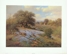 G Harvey SPRING VIEW 1978 Lithograph Signed Numbered Limited Edition Print
