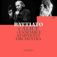Live in Roma di Franco Battiato e Alice +Ensemble Symphony Orchestra (Vinile, 2021, 2 LP)