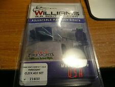WILLIAMS GUN SIGHTS FIBER OPTIC CLICK ADJ SIGHT SMITH & WESSON M&P 22LR COMPACT