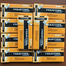 100 Duracell AAA Industrial Procell Alkaline Batteries LR03 MN2400 MICRO MINI UK