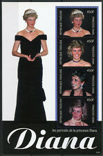 Togo 2010 MNH Princess Diana Portraits 4v M/S II Royalty Stamps