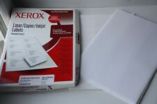 Xerox x44 Self-Adhesive 21 Address Labels per A4 sheet - Laser/Copier/Inkjet