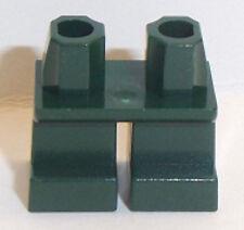 Lego Short Legs Dark Green x 1 for Minifigure